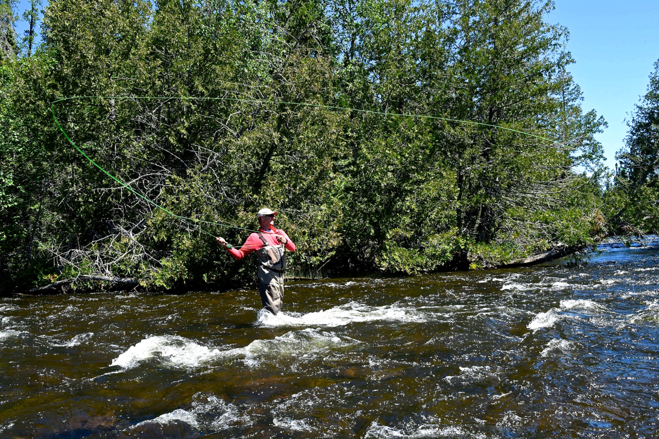 Eric Lund Fly Fishing Esnagami River