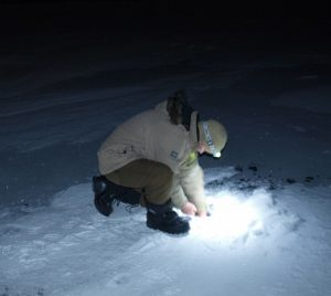 Ice Fishing on Great Slave Lake