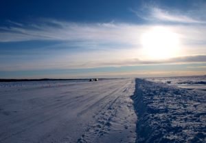 Main Ice Road - Great Slave Lake