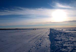 Main Ice Road - Great Slave Lake