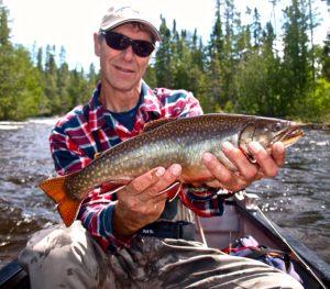 Giant Esnagami River Brook Trout