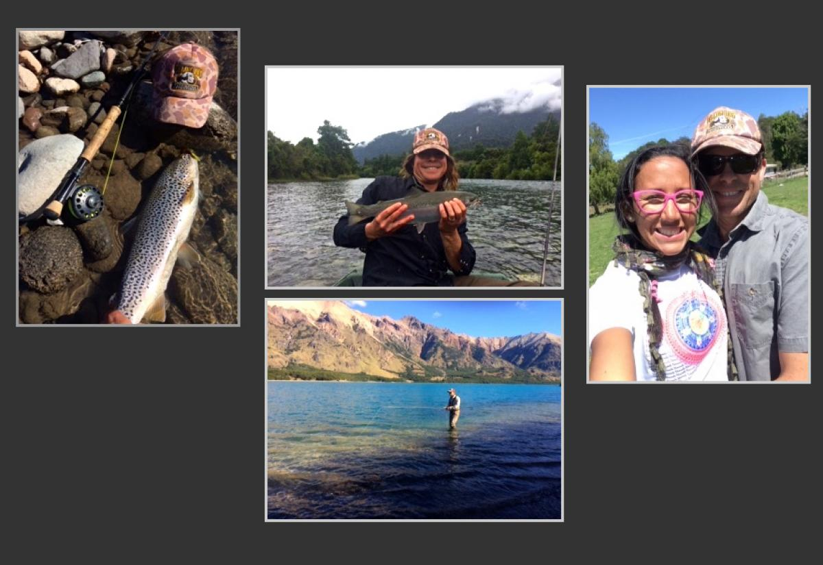Fabulous Chilean Trout Fishing